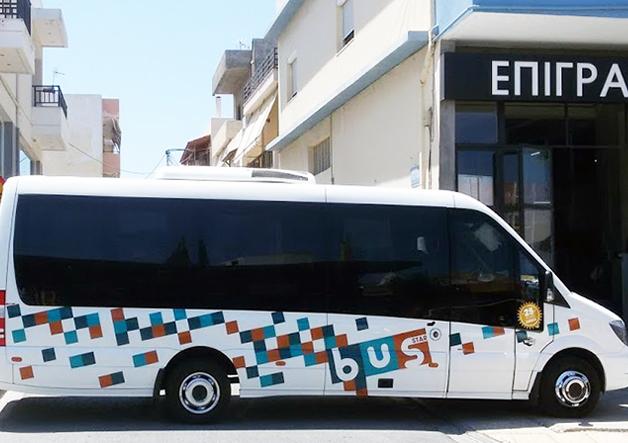 αυτοκόλλητα σε minibus