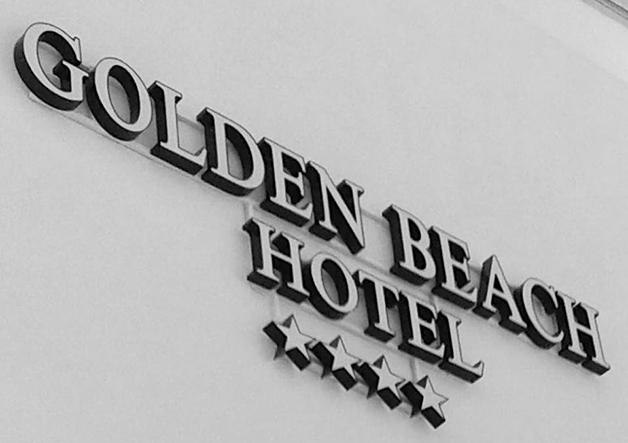 ανάγλυφα φωτεινά γράμματα Ξενοδοχείου
