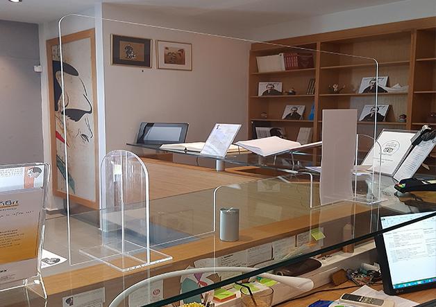 Μουσείο Καζαντζάκη plexiglass πανελ