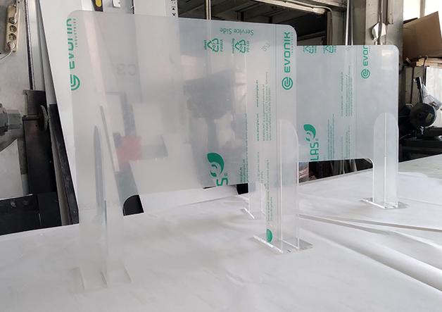 plexiglass κατακευές